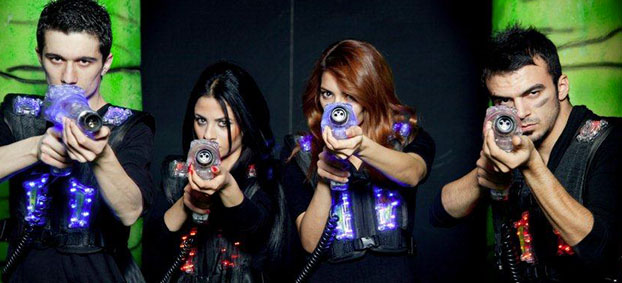 Laserforce Laser Tag Package